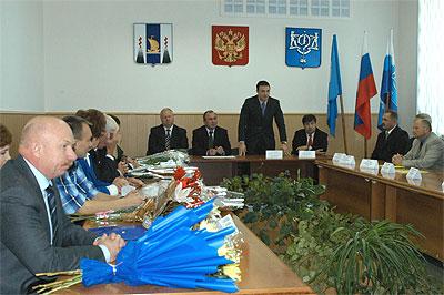 В Южно-Сахалинске приступило к работе новое городское Собрание