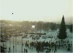 Web-камера на здании мэрии, 16:00