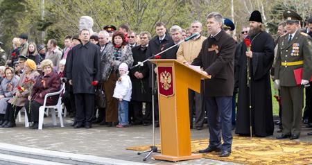 Мая парад победы в южно сахалинске